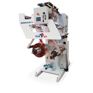 bobinatrice con sistema d'ispezione / automatica / di pellicole di plastica / per carta