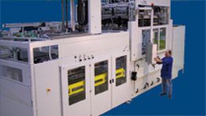 termoformatrice alimentata a rullo / di film plastico / per imballaggi / automatica