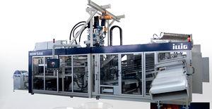 termoformatrice alimentata a rullo / per produzione di bicchieri / automatica / industriale
