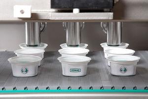 riempitrice per liquido / per alimenti / per prodotti pastosi / per stampi