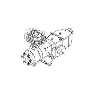 pompa idraulica per acque di raffreddamento