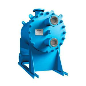scambiatore di calore a piastre e calandre / liquido/liquido / in alluminio / compatto