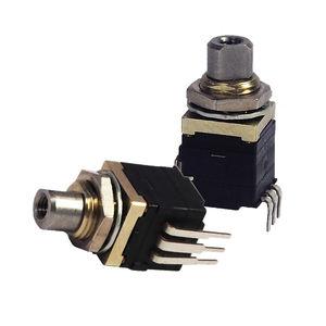 commutatore rotativo / multipolare / in acciaio inossidabile / elettromeccanico