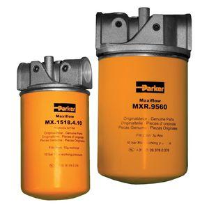 filtro idraulico / con cestello / allineato / bassa pressione