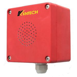 diffusore di allarme sonoro a sicurezza intrinseca / per ambienti difficili / resistente alle intemperie / a tenuta stagna