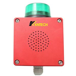 diffusore di allarme sonoro a sicurezza intrinseca / a tenuta stagna / ultrarobusto / con luci di segnalazione