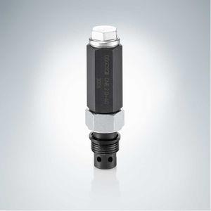 valvola a comando idraulico / di arresto / di regolazione della pressione / per olio