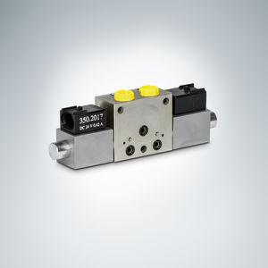 distributore idraulico a cassetto / ad azionamento manuale / a comando elettrico / ad azionamento pneumatico