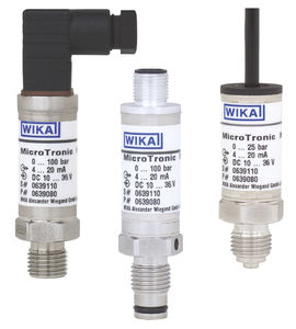 sensore di pressione assoluta / a membrana / analogico / a membrana affiorante