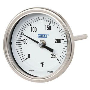 termometro bimetallico / ad ago / ad inserimento / robusto