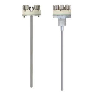 sensore di temperatura a resistenza / con isolamento minerale / antideflagrante / a molla