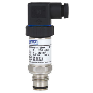 trasmettitore di pressione a membrana / analogico / a membrana affiorante / in acciaio inossidabile