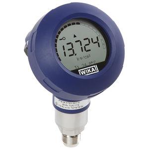 trasmettitore di pressione a membrana / digitale / a membrana affiorante / in acciaio inossidabile