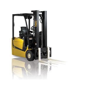 carrello elevatore elettrico / con conducente seduto / per magazzino / per contenitori