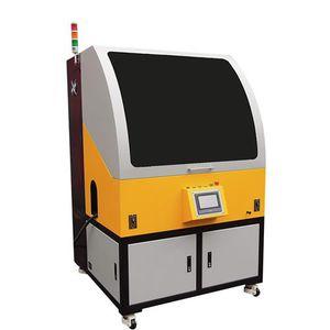 macchina per serigrafia servocomandata / multicolore / per l'industria del vetro / per bottiglie di plastica