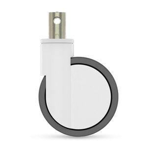 rotella girevole / a barra / monolitica / per mobile