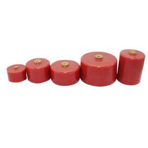 condensatore in ceramica / cilindrico / a forte potenza / ad alta tensione