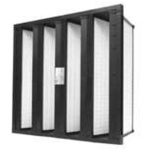filtro ad aria / multisacco / in fibra di vetro / di elevata efficacia