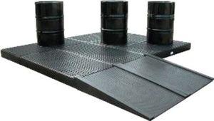 piattaforma di contenimento in polietilene