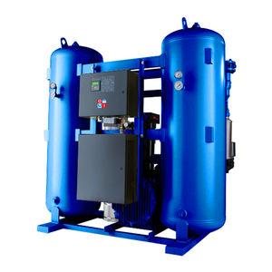 essiccatore per aria compressa ad adsorbimento a rigenerazione con calore di compressione