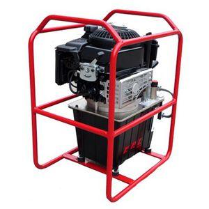 centralina idraulica con motore a benzina
