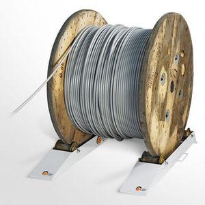 svolgitore di bobina / manuale / a rulli / portatile