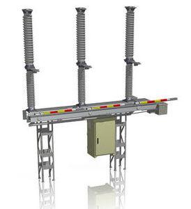 interruttore-sezionatore ad alta tensione / per esterni