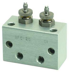 manifold a 2 vie / in acciaio inossidabile
