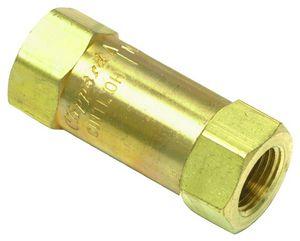 valvola di ritegno a pistone / filettata / idraulica / pneumatica