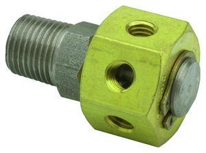 manifold a 6 vie / in metallo / pneumatico