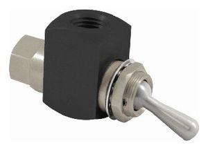 distributore idraulico a valvola / ad azionamento manuale / a 2 vie