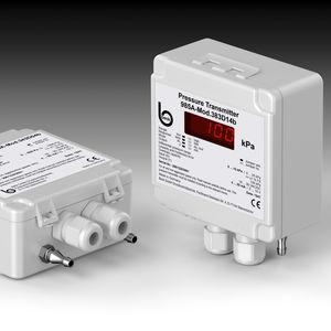 sensore di pressione Modbus / differenziale / piezoresistivo / con montaggio a parete