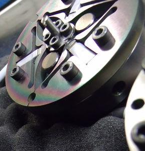 piastra di nanoposizionamento rotativa