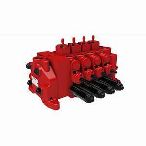 valvola manuale / di controllo / per olio / proporzionale