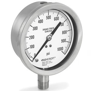 manometro analogico / a tubo Bourdon / per gas / per olio