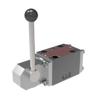 distributore idraulico a cassetto / a leva / a 4/3 vie / a 4/2 vie