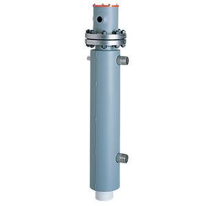 riscaldatore d'aria / a circolazione / con flangia / in linea