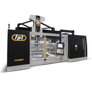 fresatrice CNC 5 assi / verticale / a portale / a tavola fissa