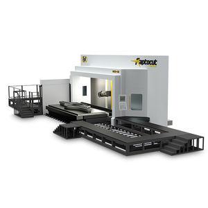 fresatrice CNC 5 assi / orizzontale / a montante mobile / per alluminio