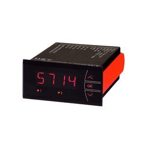 indicatore di temperatura / a 4 cifre / LED / da montare su pannello
