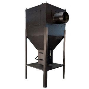 aspiratore di fumo da terra / ad uso industriale / con filtro secco / compatto