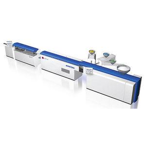 linea di estrusione per tubi / per termoplastici / per PMMA