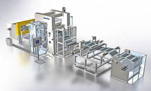 linea di calandratura per pellicole di batteria agli ioni di litio