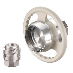 raccordo rapido / dritto / idraulico / in acciaio inossidabile