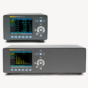 analizzatore per rete elettrica / di potenza / di tensione / armonico