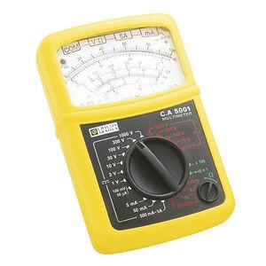 multimetro analogico / portatile / 600 V / 5 A