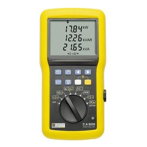 apparecchio di misura della potenza multimetro / di potenza attiva / di potenza reattiva / di potenza apparente