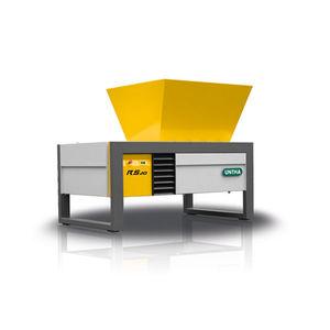 trituratore per cartone / di metallo / per rifiuti sanitari / carta