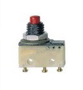micro-interruttore tattile / multipolare / elettromeccanico / a scatto