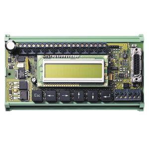 interfaccia operatore con tastiera / ad incastro / per macchina